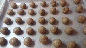 Naked Gingerbread Truffles